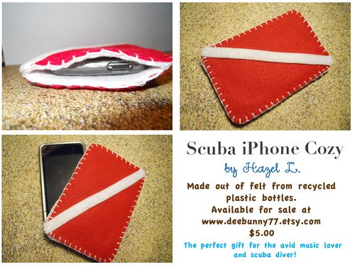 Scuba iPhone Cozy