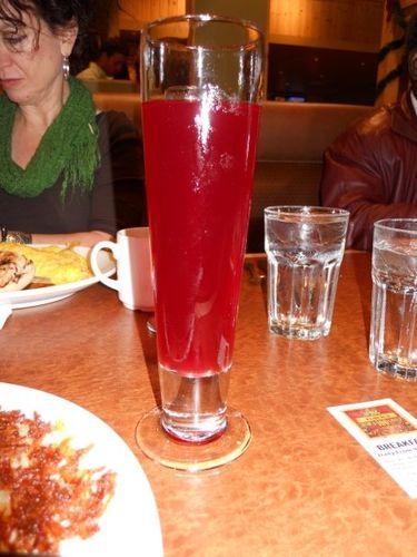 Fresh Pomegranted Juice