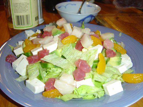 Tsunomono Seafood Salad