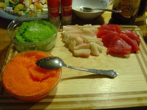 Sushi Night Set Up