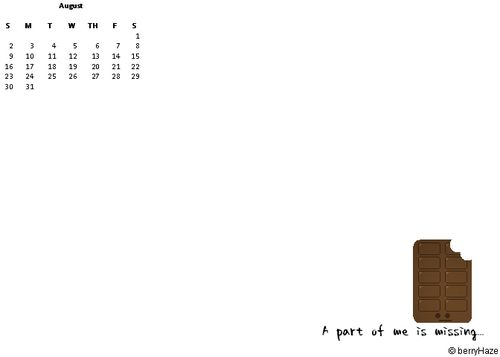 Chocolate Calendar