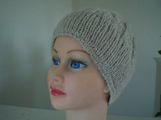 Hermoine Cable Eyelet Hat